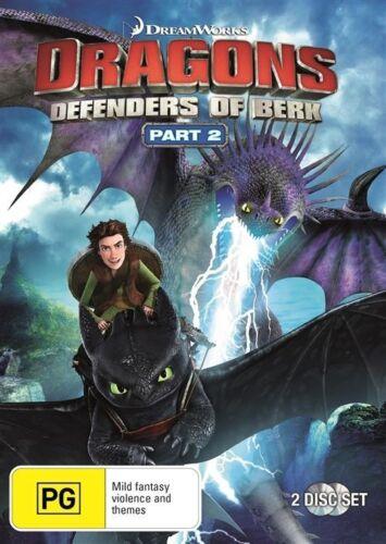 1 of 1 - Dragons - Defenders Of Berk : Part 2 (DVD, 2015, 2-Disc Set) R4 DVD PAL NEW