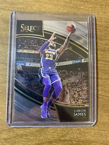 LeBron-James-2018-19-Panini-Select-Courtside-215-SSP-INVEST-HOT-Lakers-MVP-RARE