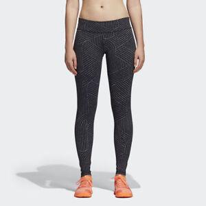 GüNstiger Verkauf Adidas Damen Glauben Dieses Hoch Gehoben Weich Strumpfhose Schwarz Grau Cv8428 Reichhaltiges Angebot Und Schnelle Lieferung Kleidung & Accessoires