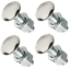 47-87-Chevy-GMC-C10-Truck-Premium-Polished-Stainless-Rear-Bumper-Bolts-Low-Dome thumbnail 2
