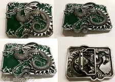 Eastern Ancient Lucky Chinese Dragon Tattoo Artist Mens Metal Belt Buckle