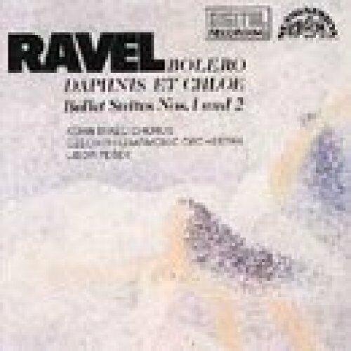 Ravel Boléro/Daphnis et Chloé, Suites No. 1 & 2 (Supraphon, 1983/85).. [CD]