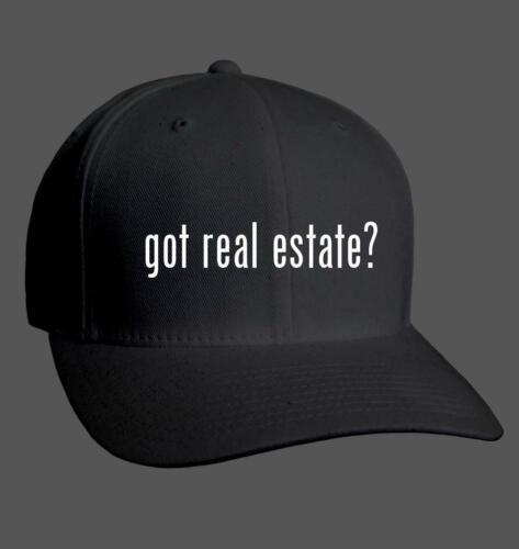 Adult Baseball Cap Hat NEW RARE got real estate?