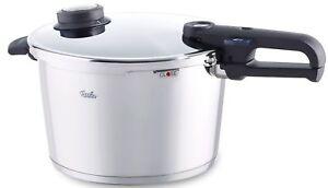Fissler-8-5qt-Vitavit-Premium-Pressure-Cooker-26cm-w-perforated-insert-amp-tripod