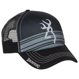 54228409367ab Browning Men s Cruiser Trucker Baseball Cap Hat Buckmark Logo Black ...