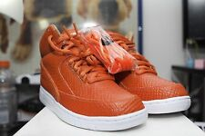 100% Authentic Nike Air Starfish Python Lux B SP Orange SZ 6.5 Men Supreme Yeezy