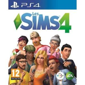 The-Sims-4-Les-Sims-4-PS4-IMPORT-neuf-sous-blister