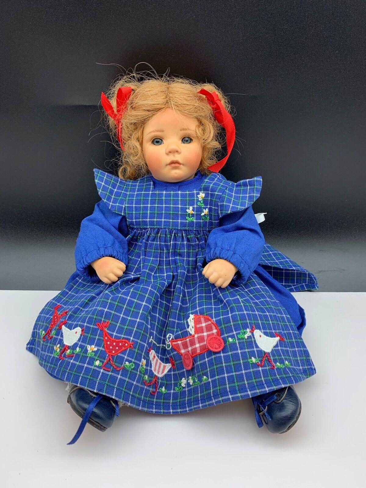 Top Zustand Various Styles Dolls & Bears Zapf Künstlerpuppe Vinyl Puppe 50 Cm Dolls