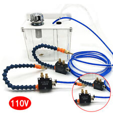 Cnc Lathe Milling Drilling Machine Cooling Spray Pump With2sprayerfilter Solenoid