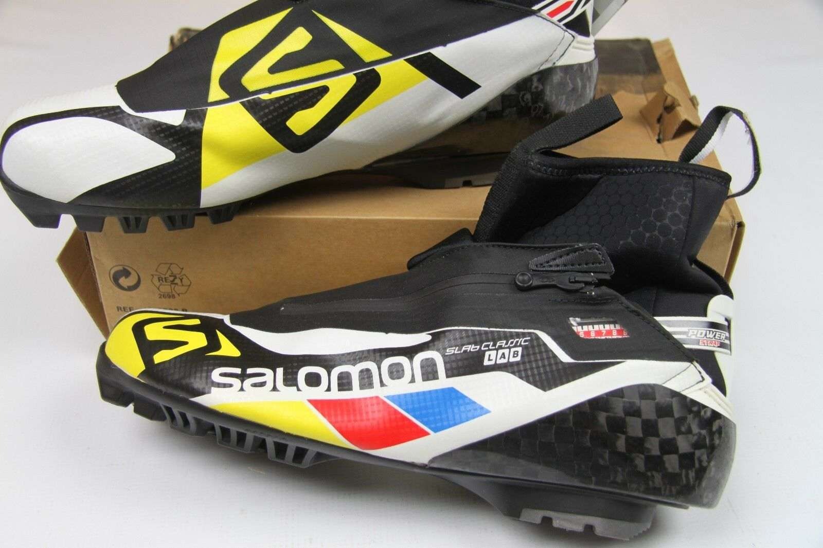 Salomon S-lab Classic  Nordic Ski Boots US 14.5 prt  lightning delivery