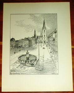 Reichenberg-Liberec-Boehmen-grossform-Tafel-Druck-Ansicht-1920