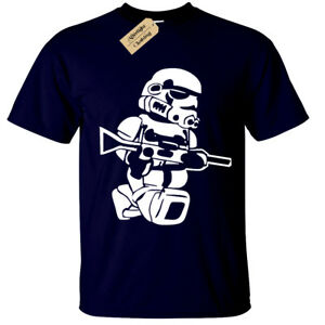 Lego-Trooper-T-shirt-Homme-Big-Print-Storm-Wars-Jedi-Vader-Star-Yoda-drole-Top