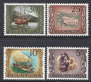 1970-PNG-NATIONAL-HERITAGE-FINE-MINT-SET-OF-4-MNH-MUH