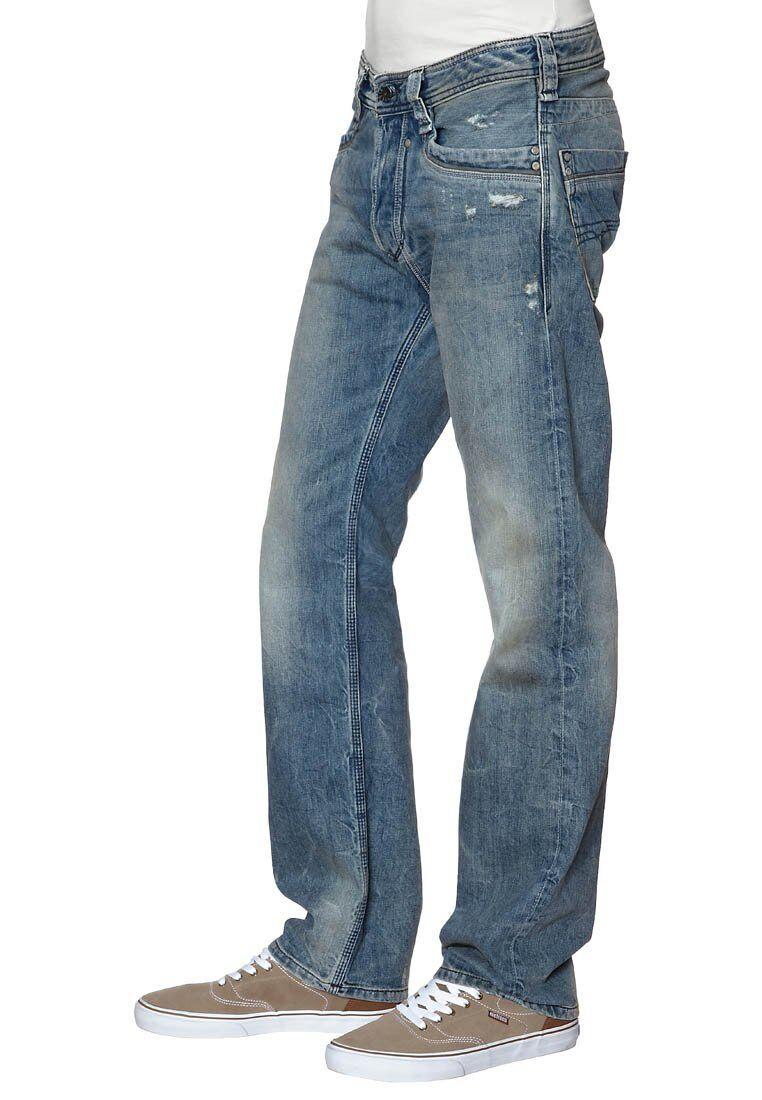 DIESEL mens 00AAZJ0884C TIMMEN wash 0884C Straight fit jeans 29 NEW