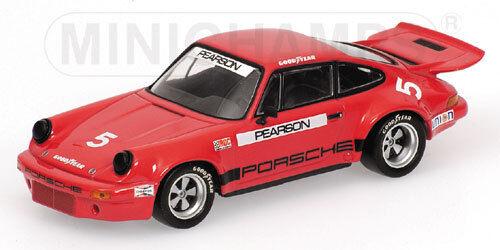 Porsche 911 voiturerera RSR  2.8 IROC 1973 D.Pearson 400736305 1 43 Minichamps  magasin d'offre