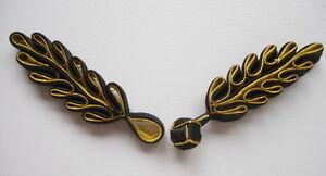 fg235 black gold ribbon chinese frog closure buttons knots 5prs ebay