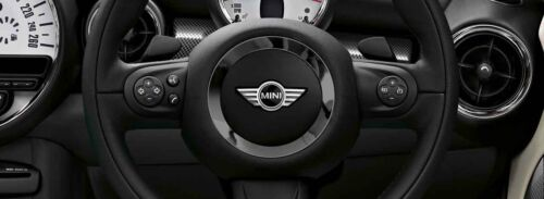 MINI Genuine Steering Wheel Spoke Multifunction Switch Set Black 32309289676