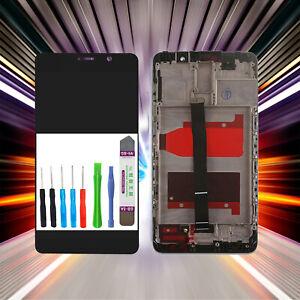 Original-Huawei-Affichage-Mat-9-LCD-Ecran-Tactile-Cadre-Noir-comme-Neuf