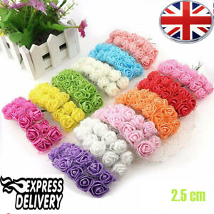 144-Pcs-Mini-foam-Artificial-Flowers-Foam-Rose-Heads-Home-Wedding-Party-Decorati