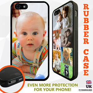 PERSONALISED-TPU-RUBBER-Photo-Collage-Phone-Case-Cover-for-Apple-iPhone-Samsung