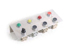1 x Schalttafel Schalter Kontrolllampe Bedientafel Pult Taster Drücker Knopf
