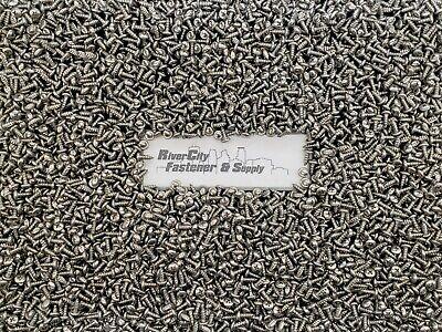 50 Sheet Metal Screws 10 x 1//2 #10x1//2 Stainless Phillips Pan Head Tapping