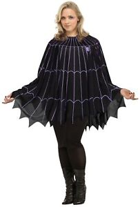 Spider-Web-Poncho-Black-Purple-Solid-Pack-Plus-Size-Halloween-Costume-Sexy