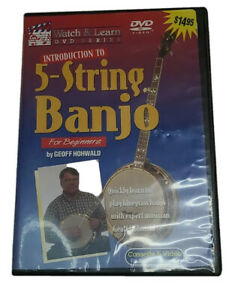 Introduction-to-Banjo-by-Geoff-Hohwald-DVD-2003-Watch-amp-Learn-Inc-VGC