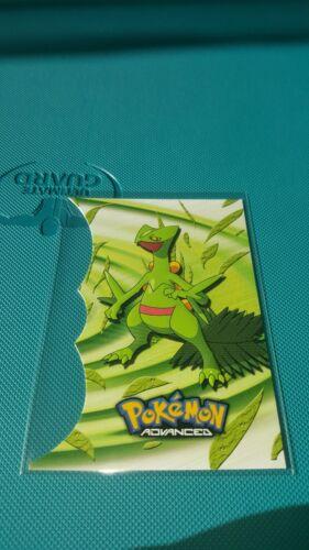 Sceptile 3 of 18 Die-Cut Advanced Pokemon NM Topps Pokemon NM rare