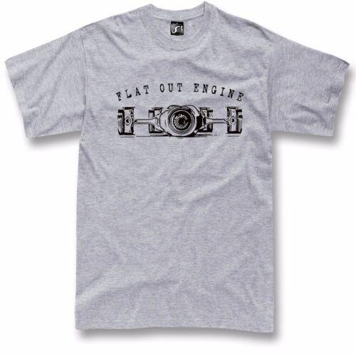 porsche 911 fans S 5XL Boxer engine t-shirt flat out for bmw gs