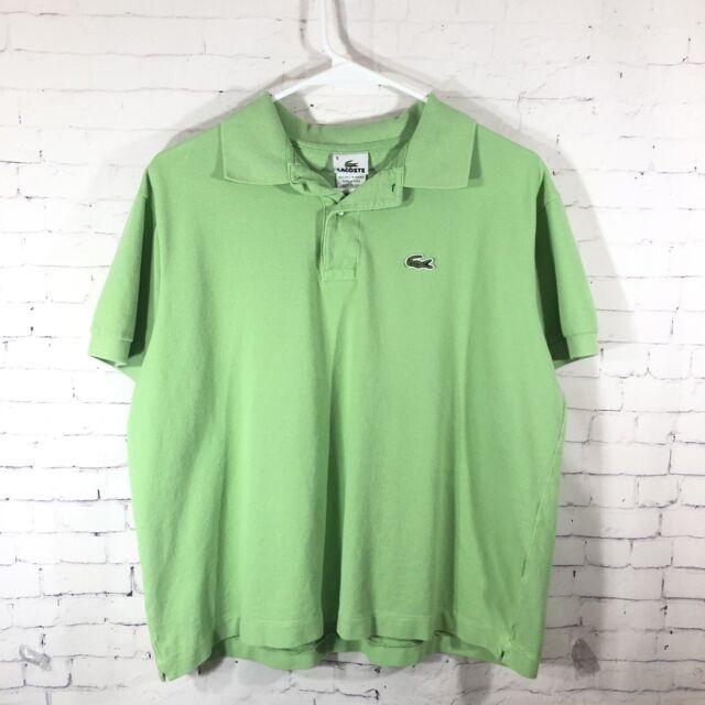 Lacoste SPORT Light Olive Blue 100/% Cotton Knit Men/'s Polo Shirt NWT Size 2XL
