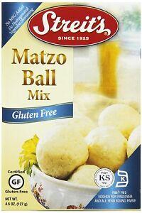 Streit's Gluten Free Matzoh Ball Mix, 4.5 Oz (Pack of 2) DATE: BSB 3/21/2021