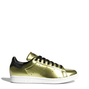 competitive price bfd34 0c601 Details zu Adidas Schuhe Originals BZ0405_Stansmith Schwarz Weiß Gold  Herren Damen Unisex