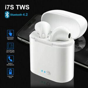 Auriculares Bluetooth i7S Inalambricos con caja de carga cascos iPhone Samsung
