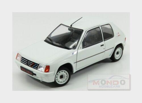 Peugeot 205 1.3 Rally 1988 White SOLIDO 1:18 SL1801701