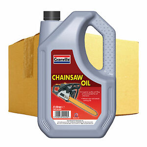 4-x-Granville-Quality-Anti-Fling-Chain-Saw-Oil-Lubricant-Fluid-SAE-30-5-Litre