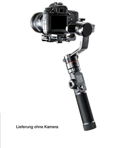Feiyutech ak4000 Gimbal para DSLR-y espejos lose cámara hasta 4 kg Bluetooth WiFi