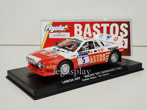 Slot Car Scalextric FlySlot 046303 Lancia 037 #5 Rallye Di Garrigues 1985