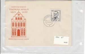 german democratic republic 1950s stamps cover ref 19199