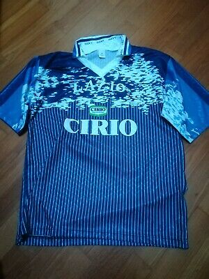 MAGLIA SHIRT CAMISETA LAZIO CALCIO VINTAGE XL NO MATCH WORN football soccer | eBay