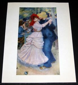 Image Is Loading Old 1950 039 S Color Plate Pierre Renoir