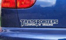 300mm (30cm) Transporters Campers Disguise Volkswagen VW Van Sticker Decal T3 T4