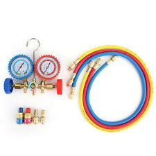R410a R22 Manifold Gauge Set Ac Ac 5ft Color Hose Air Conditioner Hvac 60 Usa