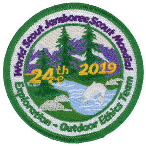 24th-World-Jamboree-2019-Outdoor-Ethics-Team-IST-Staff-Patch-Badge-USA-WSJ-BSA