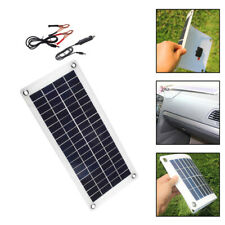 20w Solar Panel Dc 12v Trickle Battery Charger Kit Maintainer Marine Boat Rv Us
