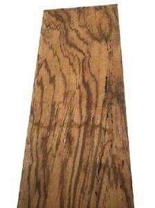 Zebrano Board Zebrawood Rustic Small Parts 115x27cm 26/28mm
