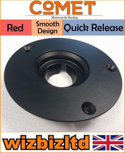 Comet Black /& Red Quick Release Fuel Cap Kawasaki ZX6-RR 2007-2016 FC536QRD