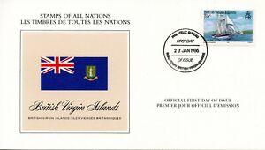 DRAPEAU-PREMIER-JOUR-LES-TIMBRES-DE-TOUTES-LES-NATIONS-BRITISH-ISLAND-1986