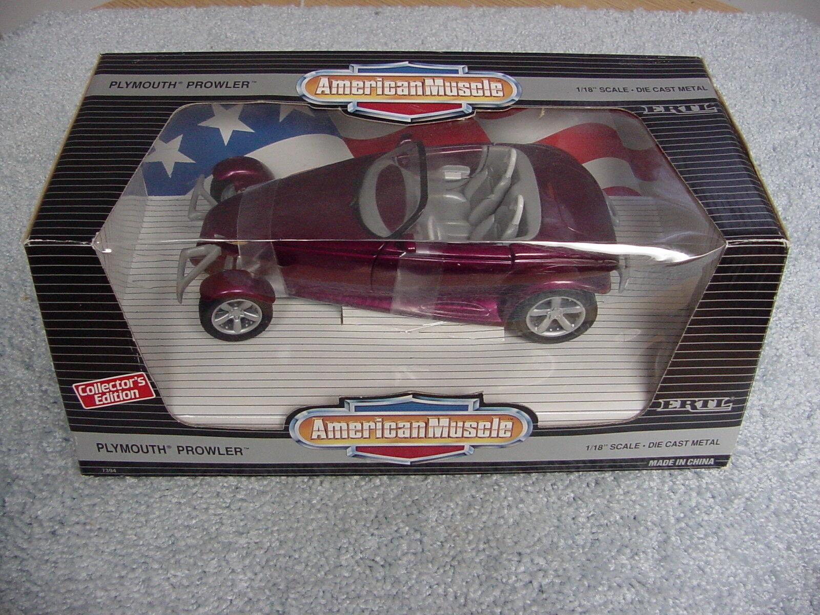 marca famosa Ertl 1 18 Plymouth Prowler Candy Candy Candy Magenta American Muscle Coche entidades cósmico  a la venta