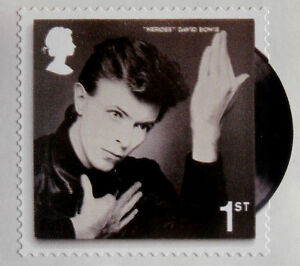 DAVID-BOWIE-Individual-ROYAL-MAIL-First-Class-postage-stamp-MINT